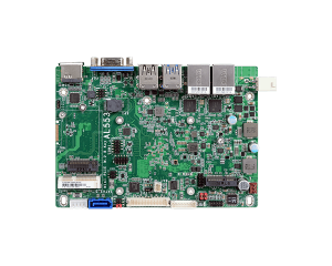 "DFI AL553 3.5"" Intel Atom SBC w/ Three Independent Displays & Memory up to 8GB"