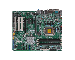 ATX Intel C216 Xeon with 2 PCIe[x16], 2 PCIe[x4], 3 PCI Slots