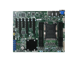 DFI PR611-C621 Intel Xeon Industrial ATX Motherboard w/ 6 DDR4 RDIMM up to 192GB