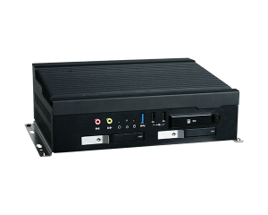 DFI VC653-SU Fanless 6th Gen In-Vehicle Computer with 2 x Removable Drive Bays