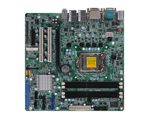 Micro ATX Intel Q77 i3/i5/i7 M/board with 4 slots (Triple Display)