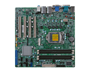 Micro ATX Intel B65 i3/i5/i7 Motherboard with 4 PCI
