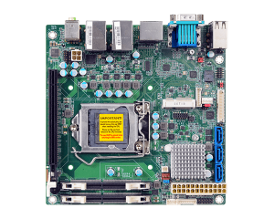 DFI CS100 9th/8th Gen Intel Core with Intel Q370/C246/H310 Mini-ITX Motherboard