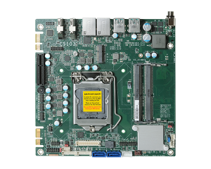 DFI CS103-H310 Intel Core,Celeron, Pentium Mini-ITX Motherboard w/ Dual Displays