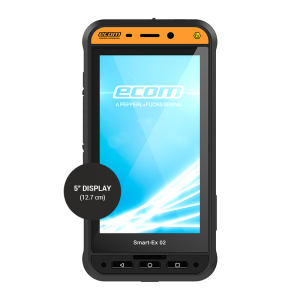 Ecom Smart-Ex 02 DZ2 Intrinsically Safe Smartphone: Zone 2 and Division 2
