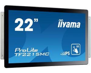 iiyama TF2215MC-B2 Open Frame PCAP 10pt Touch Screen with Touch Through Glass