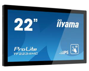 iiyama TF2234MC-B6AGB 10pt Touch Monitor with Anti Glare Glass + High Brightness