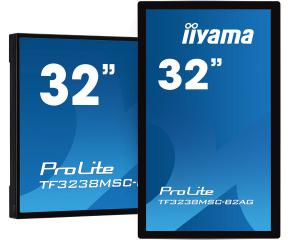 "iiyama TF3238MSC-B2AG 32"" 12pt Open Frame PCAP interactive large format display"