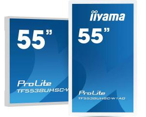 "iiyama TF5538UHSC-W1AG 55"" 12pt Open Frame PCAP Touch With Edge-To-Edge Glass"