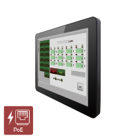 "Winmate R10L100-PCT2-PoE 10.4"" Front IP65 Industrial Touchscreen Monitor w/ PoE"