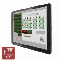 "Winmate R15L100-PTC3-PoE 15"" IP65 Industrial PoE Monitor with P-CAP Touch"