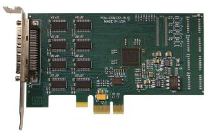 4 Port Low Profile PCI Express Serial Communication Card
