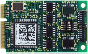 2 & 4-Port Multi-Protocol RS-232 422 485 PCI Express Mini Cards