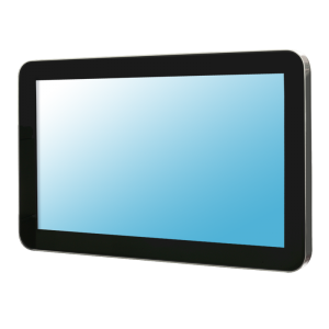 "23.8"" Stainless Steel Industrial Monitor with P-Cap Touchscreen"