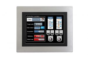"12"" Industrial IP65 Stainless Steel Touch Monitor"