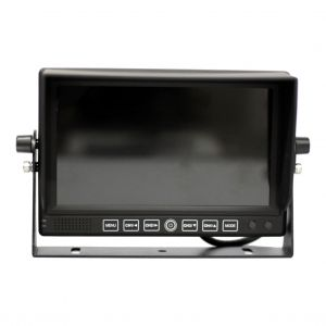 "Heavy Duty 7"" Monitor for Commercial Vehicle Safety Cameras"