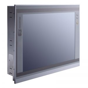 "15"" Extended Temp Fanless Touchscreen Panel PC with Intel Atom E3827"