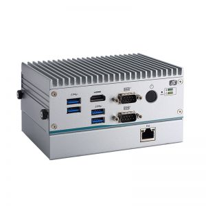 Fanless Embedded PC with PoE and Hot Swappable Storage