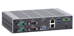 Fanless Embedded Computer w/Intel Celeron & Intel Gen 8 Graphics