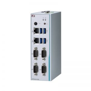 Robust DIN-rail Fanless Embedded System with Intel Atom x5-E3930/E3940 CPU