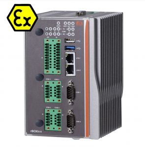ATEX Certified DIN-Mount Intel Atom E3827 Fanless Computer System