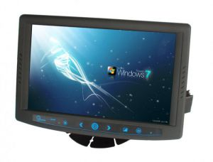 "7"" Vehicle Mount Screen with Touchscreen and Sunlight Readable Options"
