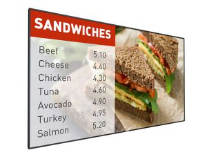 "49"" Signage Display with OPS Slot and Android Apps"