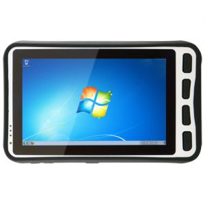 "7"" Rugged Handheld Tablet With Windows OS and Intel Atom Dual Core CPU"